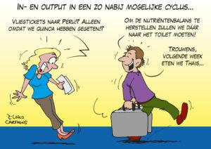 In- en output in een zo nabij mogelijke cyclus
