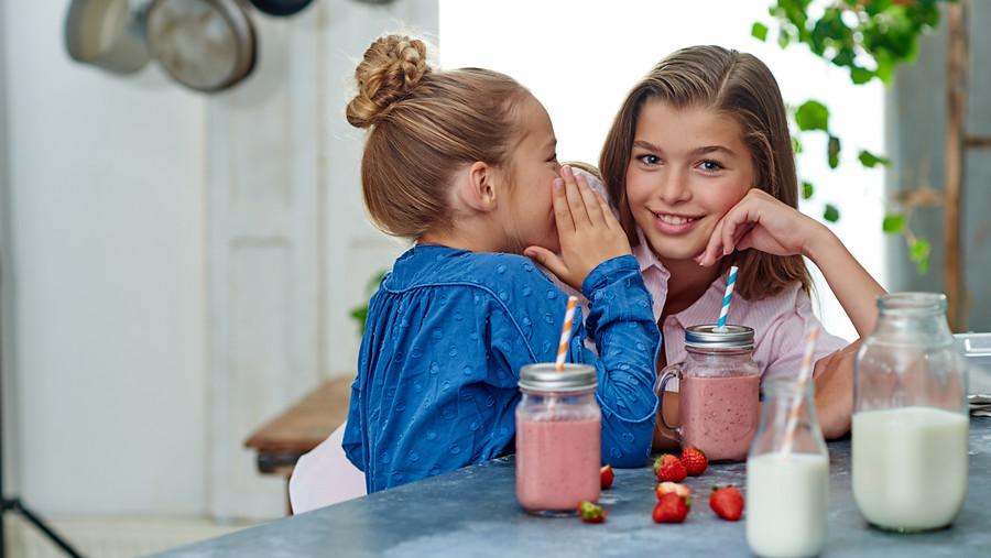 melk gezonde botten kinderen